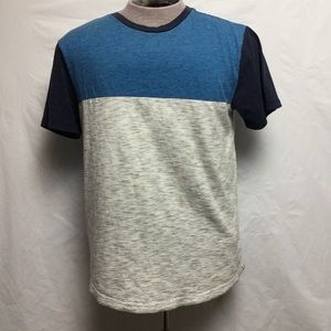 American Eagle Men's Blue Gray T-Shirt Top (L)
